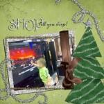 Ethan goes Christmas shoppin'