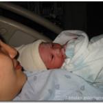 The birth of beautiful baby Hannah