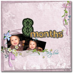 Hannah at 8 months