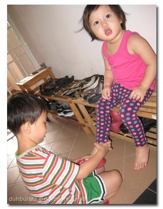shoewearing