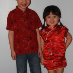 All Dressed Up for Chinese New Year in School!