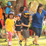 Sunday Morning at Sports Day 2014